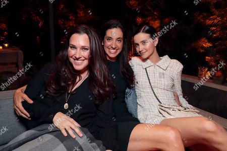 Stock Image of Jessica Rhoades, Sarah Treem and Julia Goldani Telles