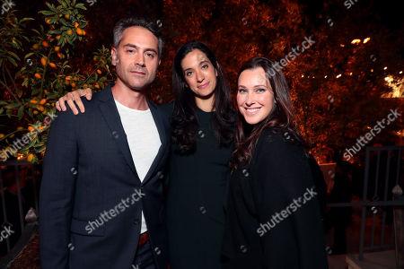 Omar Metwally, Sarah Treem and Jessica Rhoades