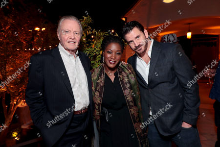 Jon Voight, Yolonda Ross and Dash Mihok