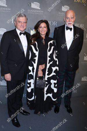 Sidney Toledano, Katia Toledano and Richard Armstrong