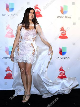Editorial image of 18th Annual Latin Grammy Awards, Press Room, Las Vegas, USA - 16 Nov 2017