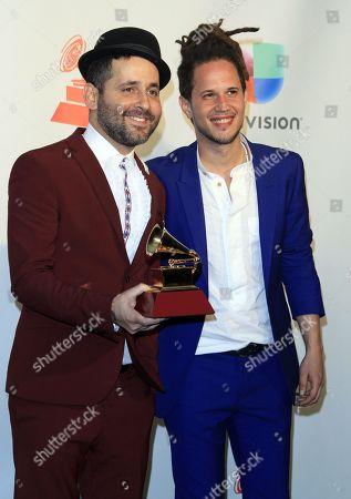 Eduardo Cabra and Vicente Garcia