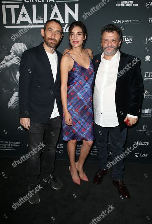 Editorial image of 'A Ciambra' film screening, Cinema Italian Style, Los Angeles, USA - 16 Nov 2017