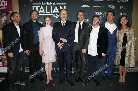 Claudio Santamaria, Antonio Manetti, Andrea De Sica, Lucila Sola, Jonas Carpignano, Gisela Marengo, Sarah Gadon