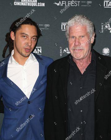 Jonas Carpignano, Ron Perlman