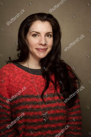 """Stephanie Meyer from the film """"Austenland,"""" poses for a portrait during the 2013 Sundance Film Festival at the Fender Music Lodge,, in Park City, Utah"""