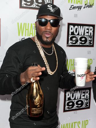 Stock Photo of Young Jeezy poses for photographers backstage during the Power 99 Powerhouse 2016 at the Wells Fargo Center, in Philadelphia