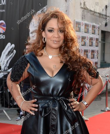 Rowetta Idah at the UK Premiere of The Stone Roses: Made of Stone at the Victoria Warehouse in Manchester, United Kingdom, on
