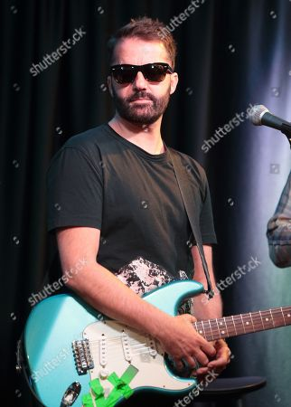 Jules De Martino of the band The Ting Tings visits the Mix 106 Performance Theater, in Philadelphia
