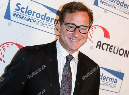 Bob Saget arrives at the Cool Comedy: Hot Cuisine Gala Benefit in Beverly Hills, Calif. Hand to God lead producer Kevin McCollum said Wednesday that the former Full House star will replace Marc Kudisch as the pastor in the play that features a satanic hand puppet. He starts Nov. 3