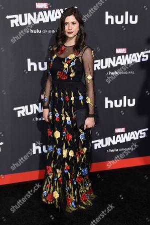 "Editorial picture of LA Premiere of ""Runaways"", Los Angeles, USA - 16 Nov 2017"