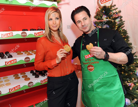Ivanka Trump, mother and businesswoman, and celebrity pastry chef Johnny Iuzzini join The Glad Products Company to celebrate National Cookie Day and the 89th annual New York Stock Exchange tree lighting by giving away thousands of cookies, in New York. For every cookie exchanged this holiday season, Glad will make a donation to its longstanding partner Cookies for Kids' Cancer, a nonprofit that raises funds for pediatric cancer research through cookie sales