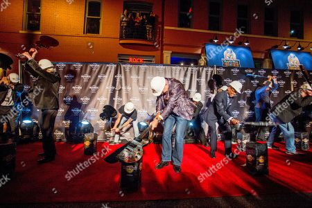 Editorial image of Hard Rock Cafe Fires Up Beale Street with the Bar-Kays, Memphis, USA - 23 Oct 2014