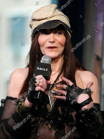 """Stock Image of Author Laura Albert participates in AOL's BUILD Speaker Series to discuss the film """"The JT Leroy Storyâ?? at AOL Studios, in New York"""