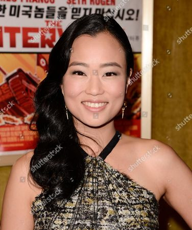 """Actress Diana Bang attends the premiere of the feature film """"The Interview"""" in Los Angeles on"""