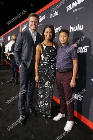 Editorial image of Hulu Premiere for Marvel's Runaways at Regency Bruin Theatre, Los Angeles, USA - 16 Nov 2017