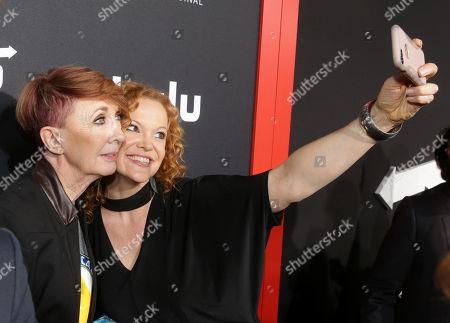 Stock Image of Patricia Lentz and Heather Olt arrive