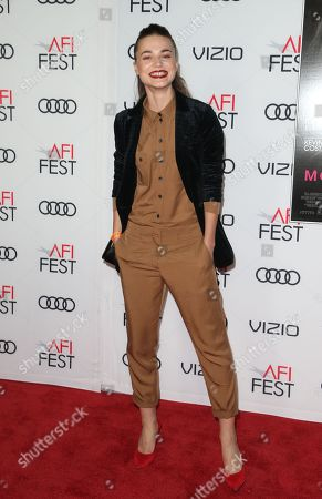 Editorial image of 'Molly's Game' film premiere, Arrivals, AFI Fest, Los Angeles, USA - 16 Nov 2017