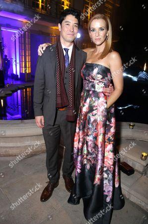 James Yaegashi and Annie Wersching