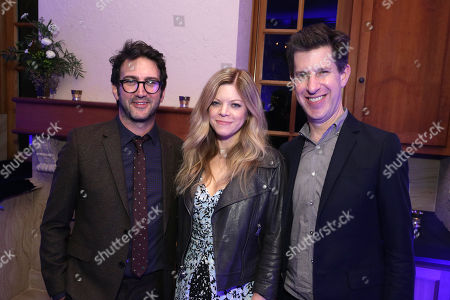 Josh Schwartz, Extecutive Producer, Stephanie Savage, Extecutive Producer, and Craig Erwich, SVP, Head of Content at HULU,