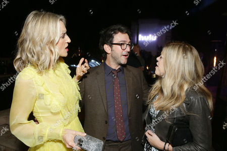 Ever Carradine, Josh Schwartz, Extecutive Producer, and Stephanie Savage, Extecutive Producer,