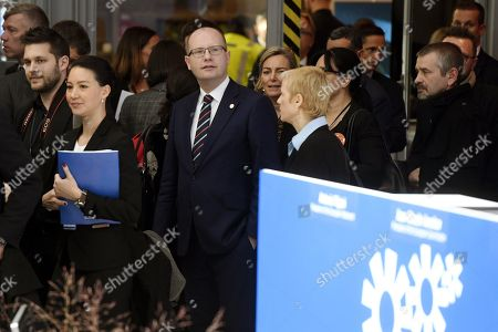 Czech Prime Minister Bohuslav Sobotka (C) attends the EU Social Summit for Fair Jobs and Growth in Gothenburg, Sweden, 17 November 2017. The Social Summit will gather EU heads of state or government, the social partners and other key stakeholders for an open discussion on how to promote fair jobs and growth.