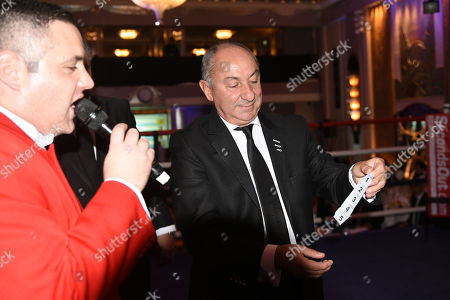 Editorial picture of Sanigar Events Show, Boxing, Sheraton Grand Park Lane Hotel, Piccadilly, London, United Kingdom - 16 Nov 2017