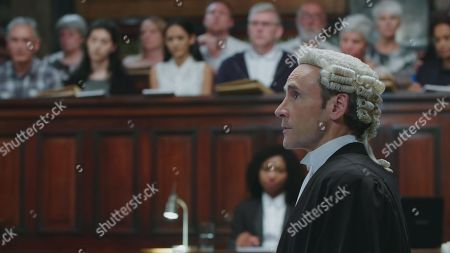 Cal MacAninch as Prosecuting Barrister Jeremy Parsons.
