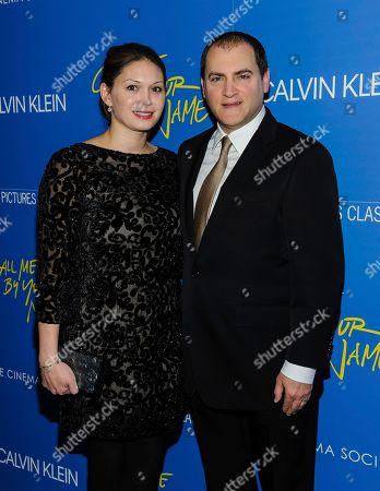 Mai-Linh Lofgren, left, and Michael Stuhlbarg