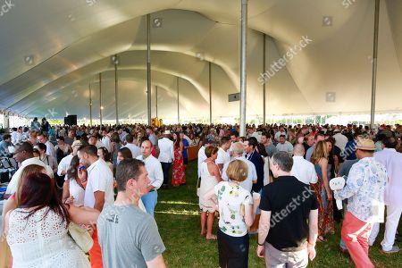 Atmosphere at the James Beard Foundation's Chefs & Champagne fundraiser honoring John Besh, at Wolffer Estate Vineyard in Sagaponack, N.Y