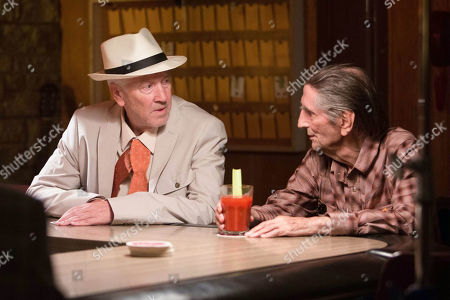 Stock Picture of David Lynch, Harry Dean Stanton