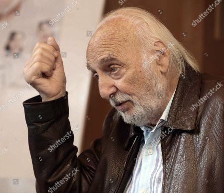 Editorial photo of Hector Alterio about new play 'The Father' in Las Palmas, Las Palmas De Gran Canaria, Spain - 17 Nov 2017