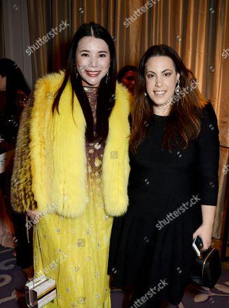 Wendy Yu and Mary Katrantzou