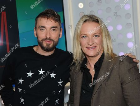 Stock Image of Christophe Willem, Elodie Suigo