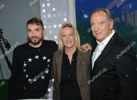 Editorial picture of French TV Personalities, Paris, France - 15 Nov 2017