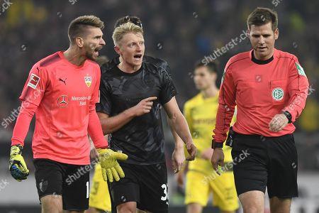 Editorial image of VfB Stuttgart vs Borussia Dortmund, Germany - 17 Nov 2017