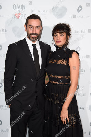 Stock Picture of Robert and Jessica Pires