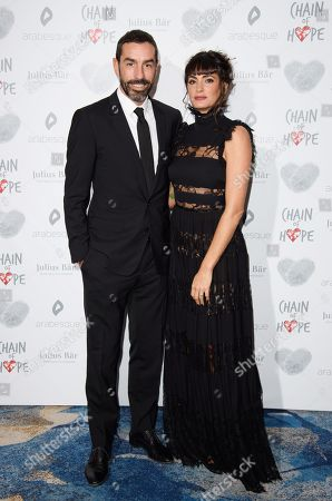 Robert and Jessica Pires