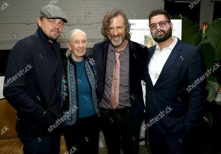 Leonardo DiCaprio, Jane Goodall, Brett Morgen, Tim Pastore