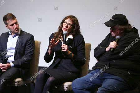 Damon Cardasis, Rebecca Miller, Michael Moore