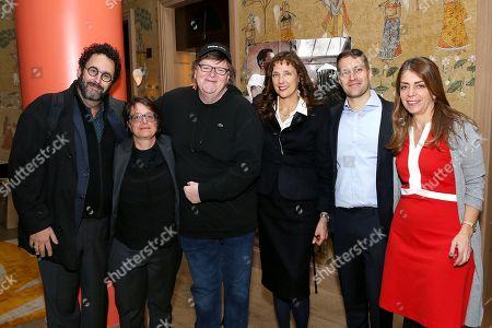 Tony Kushner, Cindy Toland, Michael Moore, Rebecca Miller, Damon Cardasis, Nancy Abraham