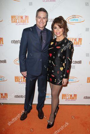 Adam Selkowitz and Paula Abdul