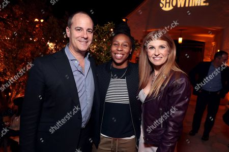 Dave Holstein and Michael Aguilar seen at ?SHOWTIME Gives Thanks? Holiday Event in the home of SHOWTIME CEO David Nevins on November 16, 2017
