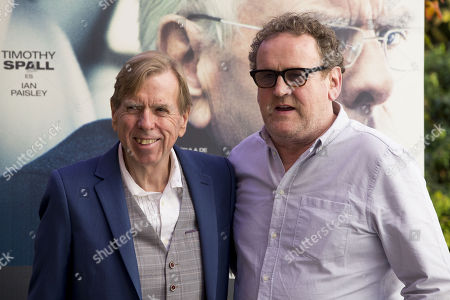 Timothy Spall and Colm Meaney