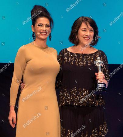 Stock Image of Paulina Garcia and Luichi Macias