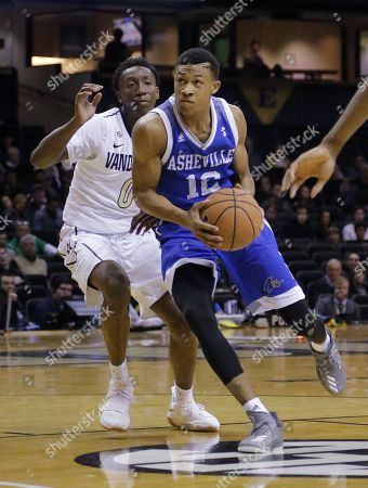Editorial photo of UNC Asheville Vanderbilt Basketball, Nashville, USA - 17 Nov 2017