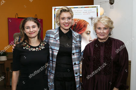 Stock Picture of Chloe Malle, Greta Gerwig, Candice Bergen