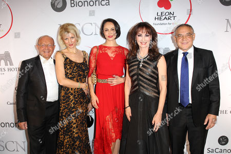 Prof.Dr.Michael Popp, Prof. Leyla Namazova, Natalia Klitschko, Anna Maria Kaufmann, Felix Magath,.
