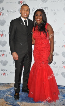 Chris Eubank Jr. and Tessa Sanderson