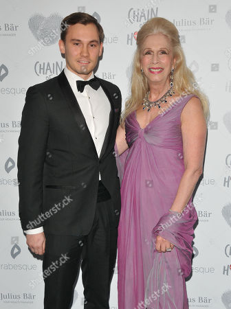 Stock Image of Dima Campbell and Georgia Arianna (Lady Colin Campbell)